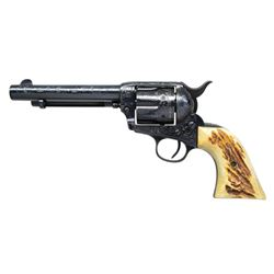 CUSTOM ENGRAVED PRE-WAR COLT SINGLE ACTION ARMY