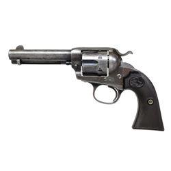 "BISLEY MODEL ""COLT FRONTIER SIX SHOOTER"" REVOLVER."