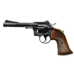 A. A. WHITE ENGRAVED COLT OFFICERS MODEL SPECIAL