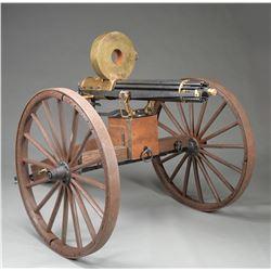 THUNDER VALLEY MACHINE, 1883 BATTERY GATLING GUN.