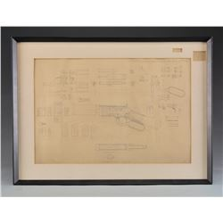 WINCHESTER DETAILED ENGINEERING DRAWING OF MODEL