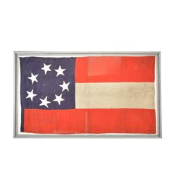 CONFEDERATE 7-STAR FIRST NATIONAL FLAG.