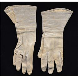 CONFEDERATE OFFICERS GAUNTLETS WORN BY CAPTAIN