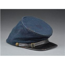 CIVIL WAR OFFICER'S GRADE FORAGE CAP.