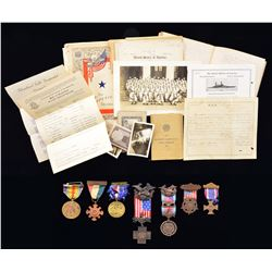 MILITARY ARCHIVE OF THE LAWTON FAMILY OF