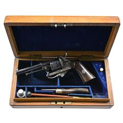 EXCEPTIONAL CASED 7MM LEFAUCHEAUX PINFIRE