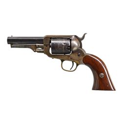 E. WHITNEY POCKET MODEL PERCUSSION REVOLVER.