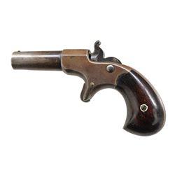 REMINGTON-ELLIOT SINGLE SHOT DERRINGER.