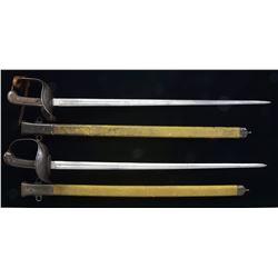 2 M1913 CAVALRY SWORDS.