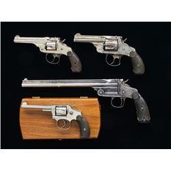 4 SMITH & WESSON HANDGUNS.