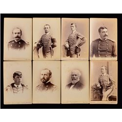 WEST POINT CLASS OF 1883 CABINET CARDS.