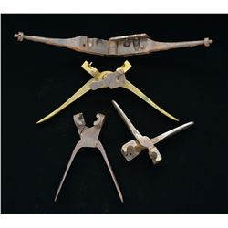 4 RIFLE MUSKET SIZED 2 & 3 RING MINIES.