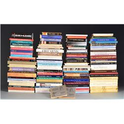 GROUPING OF 75+ REFERENCE BOOKS.