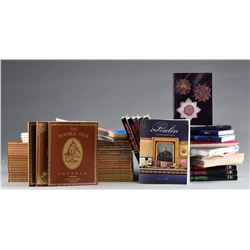 GROUPNG OF DOUBLE GUN JOURNALS, MAGAZINES &