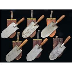 6 US M1880 ENTRENCHING TOOLS.