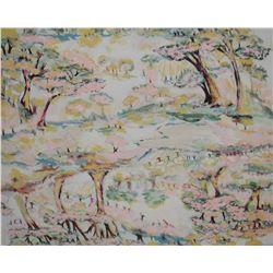 Your Birthday Day painting SpringMay20 -LangdonArt- Printemps 20 mai peinture Ta Fête