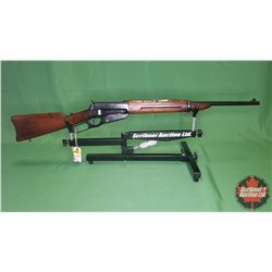 RIFLE : Winchester Model 1895 Carbine Army 30cal Lever w/Saddle Ring(Re-blued)S/N#77725
