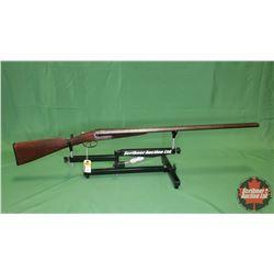 SHOTGUN : Double BBL 12ga Break(Stock Cracked)S/N#20613