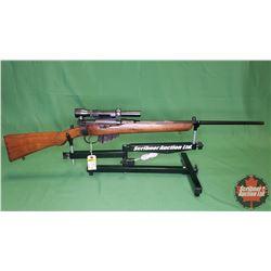 RIFLE : Lee Enfield Mark III Sporter .303 British w/Weaver Scope S/N#86860