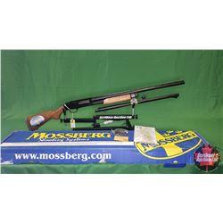 "SHOTGUN : NEW – Mossberg Model 535 Pump Combo 12ga 3""& 3-1/2"" c/w Rifled Bore BBL & Choke Tubes"