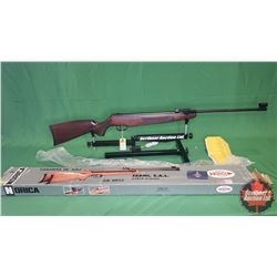 AIR RIFLE : NEW – Norica Model Marvic .177cal Break S/N#47450-96 (Crack in Stock) : PAL Required