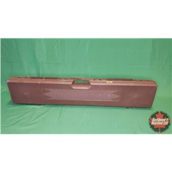 Gun Hugger Brown Hard Shell Gun Case