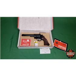 AIR RIFLE : Crosman Model 38T .22cal Double & Single Action c/w CO2 Cartridge S/N#676610915 : NO PAL