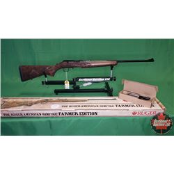 "RIFLE : NEW - Ruger American ""Farmer Edition"" .22WMR Bolt S/N#AFM-02186"