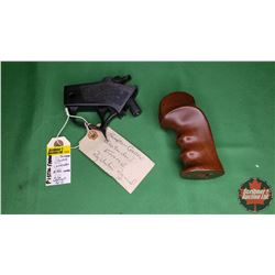 Thompson Center Contender Pistol Frame & Walnut Grip (S/N#106701) : PAL Required