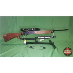 RIFLE: Remington 742 Woodmaster 308WIN Semi-Auto w/Redfield Scope S/N#A7426195