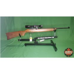 RIFLE: Ruger 10-22 Carbine 22LR Semi-Auto w/Bushnell Scope S/N#233-89293