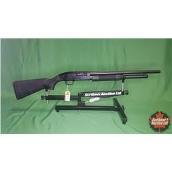"SHOTGUN: Maverick by Mossberg 88 Pump 12 ga 2-3/4"" & 3"" S/N#MV15967V (18.5"" BBL)"