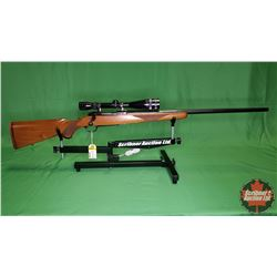 RIFLE : Ruger M77 Bolt .220 Swift w/Scope S/N#72-70269