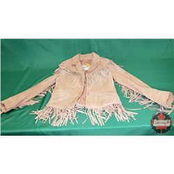 Berman's Leather Fringe Coat (Size appears to be Ladies Small)