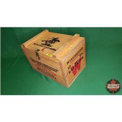 "Winchester Wooden Shotgun Cartridge Box (10""H x 10""W x 16""L)"