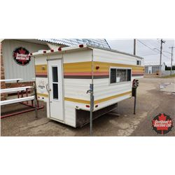 1977 Edson 8' Camper c/w Fridge, Stove & Heater (some water damage on roof)