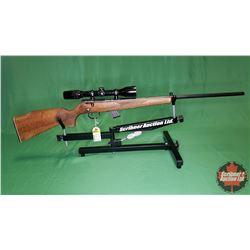 RIFLE: Anschutz Model 1415-1416 Bolt Action .22cal w/Bushnell Scope S/N# 1281589