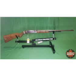 RIFLE: Browning Belgium Repeater .22LR Pump (Cracked Stock) S/N#13815