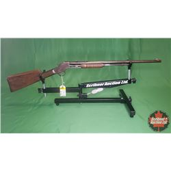 RIFLE: J. Stevens Visible Loader .22SL/LR Pump (Missing Feed Tube Rod) S/N#T381