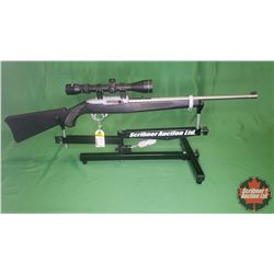 RIFLE: Ruger 10-22 Semi-Auto .22LR w/Tasco Scope S/N#351-88151