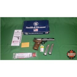 HANDGUN: Smith & Wesson Model 22A-1 Semi-Auto .22LR w/Extra Clips S/N# UDL8507 (NOTE: PENDING)