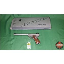HANDGUN: AMT Lightning .22LR Semi-Auto  S/N#G08931 - NOTE: This item is PENDING transfer from Estate