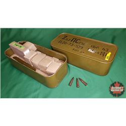 AMMO: Military Surplus 7.62 x 39 (1170 Rnds) (1 Full Can + 1 Partial Can)
