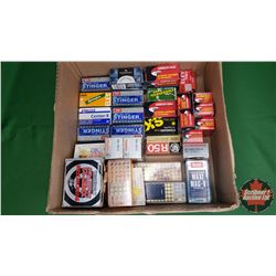 AMMO: Variety of Brands (1745 Rnds Full & Part Boxes) (22LR = 1583Rnds) (22Short = 65Rnds) (22Win Ma
