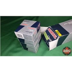 AMMO: Federal Classic .22 (50gr Jacketed Hollow Point) (400 Rnds) (8 Boxes of 50)