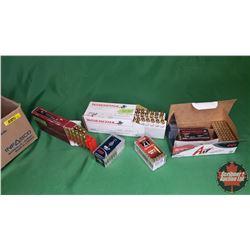 AMMO - Variety : Winchester 223Rem (45gr) (35 Rnds) & Hornady 17HMR (17gr V-Max) (50 Rnds) & Nosler