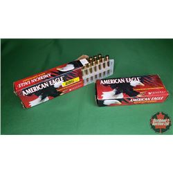 AMMO: American Eagle 223Rem (50gr Jacketed HP) (40 Rnds) (2 Boxes of 20)