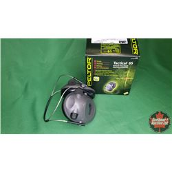 Peltor Tactical 6S - Electronic behind the head hearing protector (Designed for hat/cap wearers)