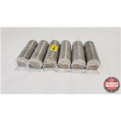 Canada 25¢ Rolls 2000 (6) : Freedom; Community; Harmony; Pride; Celebration; Health