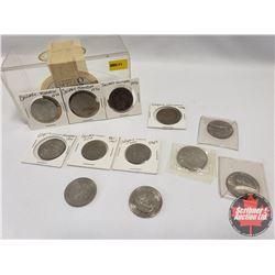 Variety Tokens (12) : Calgary Stampede 1976 (4) ; Calgary Stampede 1971 ; Calgary Zoo 1867-1967 ; Ca